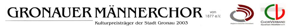 Gronauer Männerchor