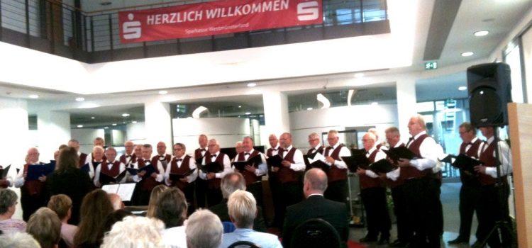 Konzert in der Sparkasse Westmünsterland, Hauptstelle Gronau