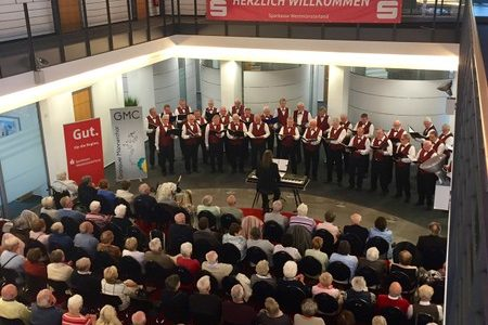 Konzert in der Sparkasse Westmünsterland am 17. September 2017