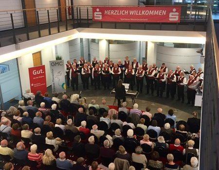 Konzert in der Sparkasse Westmünsterland am 17. September 2017