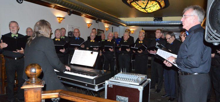 Männerchor gestaltet offenen Konzertabend in der Concordia