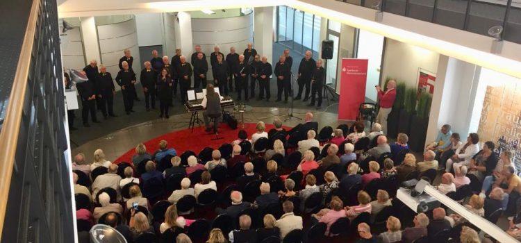 Konzert in der Sparkasse Westmünsterland